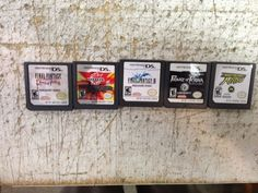 Final Fantasy III, Prince of Persia, FF Ring of Fates, lot of 5 Nintendo DS