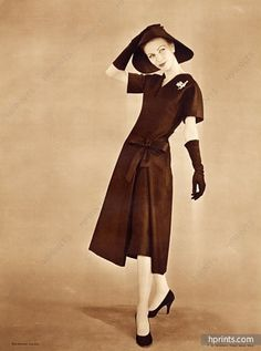 Christian Dior 1957 Sabine Weiss
