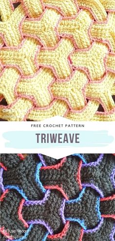 Colorful Textured Stitches with Free Crochet Patterns