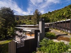 Image 1 of 29 from gallery of Moetapu Beach House / Parsonson Architects. Photograph by Paul McCredie