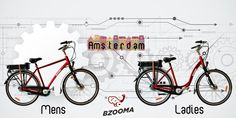 Bzooma 'Amsterdam' Why toil up and down hills or exhaust yourself in a spread-out city, when 'Amsterdam's' Electric Assist can carry you along as though it was flat. Electric Bicycle, Electric Scooter, Amsterdam, Flat, City, Electric Push Bike, Bass, Cities, Dancing Girls