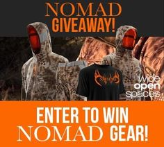 Check out the $1000 @Nomad_Outdoor giveaway from @wideopenspaces......Enter Here...http://virl.io/xOOvQeVz
