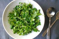 Pea Shoot and Baby Arugula Salad with Meyer Lemon Vinaigrette Recipe on Food52 recipe on Food52
