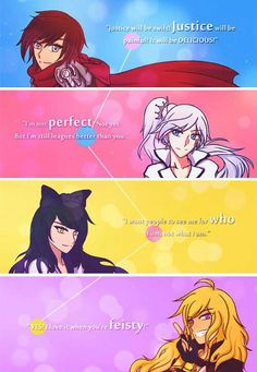 Rwby crew quotes Cool! My favorite quotes from Yang go a little deeper than that though