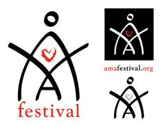 Creation of the logo and publicity card for the AMA FESTIVAL- festival of social and cultural action dedicated to women.