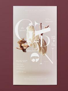 poster design musical theatre indesign secret garden