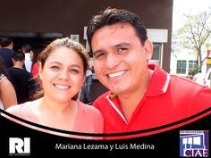 Mariana Lezama y Luis Medina