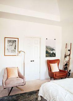 Trend: Velvet Chairs | Reading Spot | La La Loving