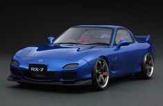 IG0201 1/18 MAZDA RX-7 (FD3S) Sprit R Type A Blue | LINE UP | ignition model - すべてはミニチュアカーコレクターのために。