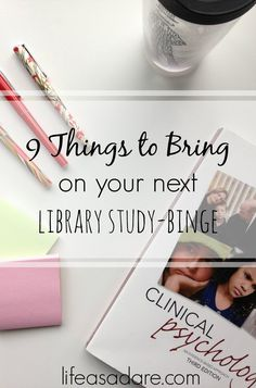 If you& in college, you& guaranteed to have a library study day. Nothing but you and your text books for 9 straight hours of binge-studying. Here are some great tips to make sure you stay productive and have fun doing it! Read the rest at Life as a Dare College Hacks, College Life, School Hacks, College Success, College Essentials, Education College, Studying In College, College Necessities, College Quotes
