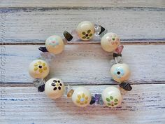 Wooden beads are a blank canvas. A great way for kids, especially tweens through teens, to express their creativity and work a little more intently on a project. Wooden beads can be painted then decorated to make pretty bracelets, keychains, necklaces and more. Here's a fun bracelet project to get you started, one that's even perfect for Mother's Day! DecoArt   Read More »