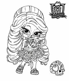 Monster High Coloring Pages Lagoona Blue Baby - http://east-color ...