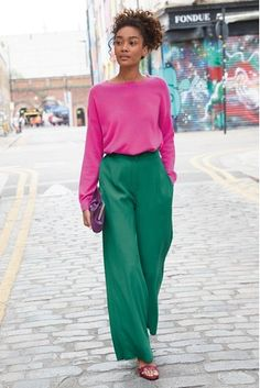 Buy Teal Wide Leg Trousers from the Next UK online shop Stretch Cotton Culotte P. - Buy Teal Wide Leg Trousers from the Next UK online shop Stretch Cotton Culotte Pants – Black – - Look Fashion, Autumn Fashion, Fashion Outfits, Fashion Scarves, Milan Fashion, Fashion Clothes, Trendy Fashion, Vintage Fashion, Fashion Tips