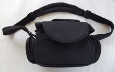#PhotoMate #CameraBag, Style L231220005, Black, Padded Shoulder Strap