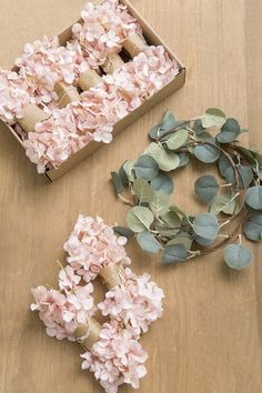 Silk Wisteria Flower Garland Pack of 10 - 2 Colors