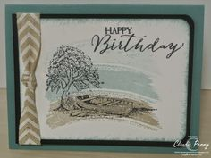 Stampin' Up!, Moon Lake, Stamp-a-Stack Purchase supplies at www.sharikeller.Stampin Up.net