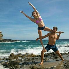 @xanadu4 - @acro_mj and @onlykayvon at Laguna Beach - . For info about promoting your yoga brand or events send me a direct message @yogalife.gifts or email aspireyoga@outlook.com . Follow @yogalife.gifts for inspiring yoga images and videos every day! . #yoga #yogi #acroyoga #inspiration #asana #quote