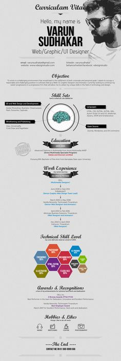 the infographic resume Infographic Resumes Pinterest - higher education resume examples
