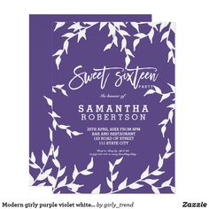 Graduation party pretty invite purple flower lilac graduation graduation party pretty invite purple flower lilac graduation party invitations pinterest floral invitation flower invitation and invitation ideas filmwisefo