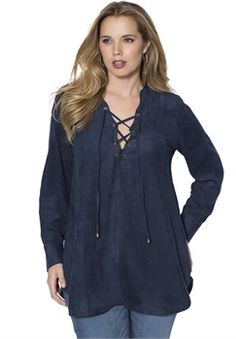 Pre-Fall Collection: Tops for Plus Size Women | Roaman's