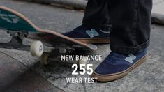 New Balance 255 Skate Shoes Wear Test Review – Tactics.com – Tactics Boardshop: Tactics Boardshop – New Balance 255 skate shoes at Tactics:…
