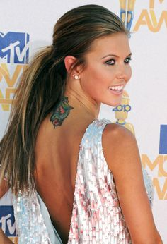 Audrina Patridge. Love the style and her hair color!