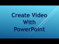 http://marionblackonline.com This is how I create a video using Microsoft PowerPoint. The original video is 'Shortcut Wealth Creator Review ' https://youtu.be/3OP7XsLqXbA and I used Jing http://prefertoworkathome.com/jing for the screenshot.