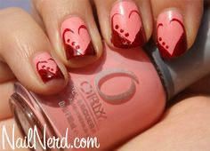 Orly Cotton Candy Sweetheart Nails