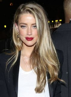Amber Heard may already be moving on from Johnny Depp. Amber Heard Hair, Amber Heard Style, Amber Heard Rum Diary, Amber Head, Blunt Hair, Most Beautiful Faces, Bella Thorne, Beauty Queens, Hair Inspo