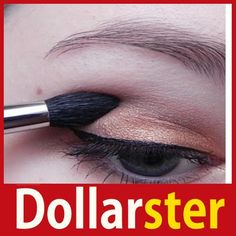 [Dollar Ster] Tapered Blending Eye Shadow Make Up Brush Pen Beauty Handle 24 hours dispatch