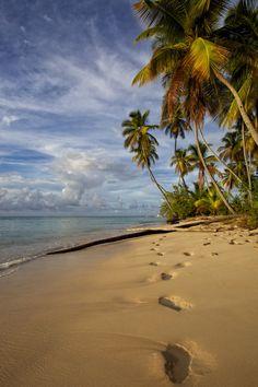 #jemevade #ledeclicanticlope / Tobago - Pigeon Point Beach. Via scribblesnz.com