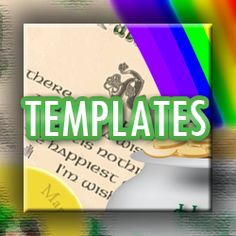 Want to Make Your Own Greeting Cards? Use These Free Templates: About.com St. Patrick's Day Greeting Card Templates