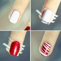 Nails, Beauty, Style, Fashion, christmas, nails, naildesign, creative, nail, nailfashion, manicure, nailart, instanails,