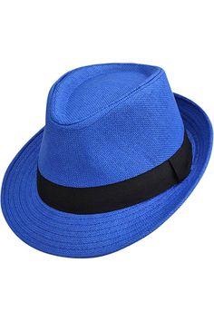 Vibrant Basic Straw Fedora Hat – Luxury Divas