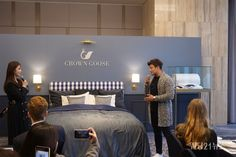 """""""The Past, Present and Future of Luxury"""" This product is the universal standard used in five-star hotels. It is soft to the touch and is highly sought after in Northern Europe, US, and Canada. Five Star Hotel, Bedding Collections, Universal Standard, Around The Worlds, Sleep, Luxury, Collaboration, Hotels, Europe"""