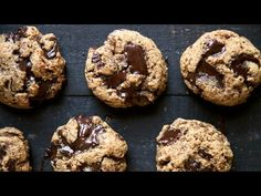 The Best Paleo Chocolate Chunk Cookies + video! | Ambitious Kitchen
