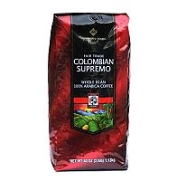 My new favorite coffee beans (I grind them at home) - and they are fair trade certified, so win-win!