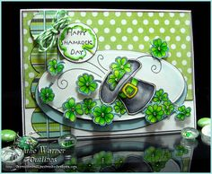Our Outlines Monday challenge theme this week is to.....  make something with a St. Patrick's Day Theme  We would like you to join this chal...