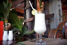 코코넛 밀크 슬러쉬