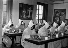 Trappists monks