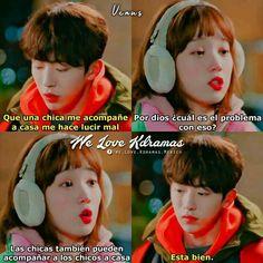 K Meme, Bts Memes, Weightlifting Kim Bok Joo, Kdrama, Kim Book, Drama School, Joo Hyuk, Lee Sung, Drama Series