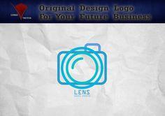 Lens Photography Camera Logo, Custom Logo Vector Design, Vector for Your… Logan, Vector Design, Logo Design, Edit Logo, Camera Logo, Photography Camera, Creative Logo, Custom Logos, Photo Studio