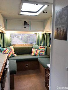 Gordijnen voor caravan maken in 5 stappen | Gypsy,trailers and ...