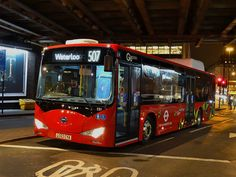Go-Ahead London subsidiary London General BYD eBus (EB1 - LC63 CYA) 507