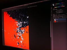 Working on A2 render into Photoshop, for poster purposes // Twitter @mezklador