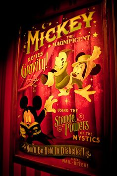 Mickey's Philharmagic...best 3D show EVER!