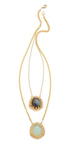 #alexisbittar necklaces
