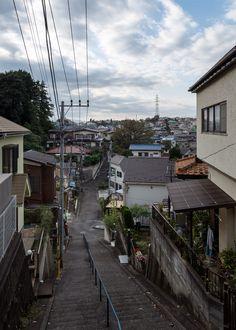 kkworks street_photography road sky houses tokyo japan 2016 original_photographers over50