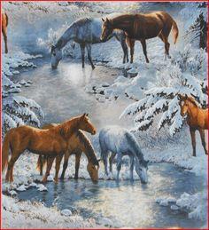 rivers bend horse power - horse print scrub tops