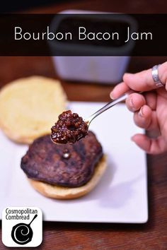 Bourbon Bacon Jam - this will make you swoon! Get the recipe from Cosmopolitan…